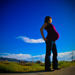 fully saturated (day 252 | year 2.5) (TeeRish) Tags: selfportrait pregnant belly year25 365days flickrgrouproulette selfiesquared saturatedsaturday feb0809