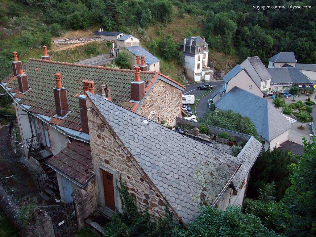 Telhados de Saint Nectaire