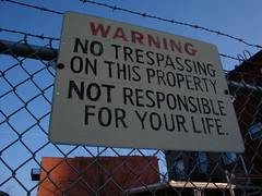 not responsible for your life