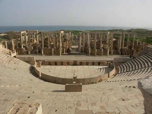 Theatre, Leptis Magna, Libya