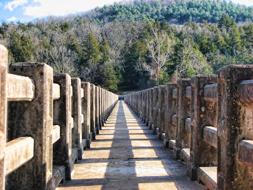 Lake Leatherwood Dam Bridge