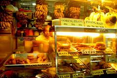 Goreng Pisang Man, Tekka Market