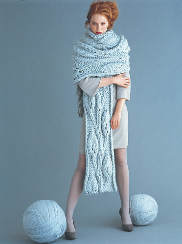 Vogue Knitting Lace Scarf