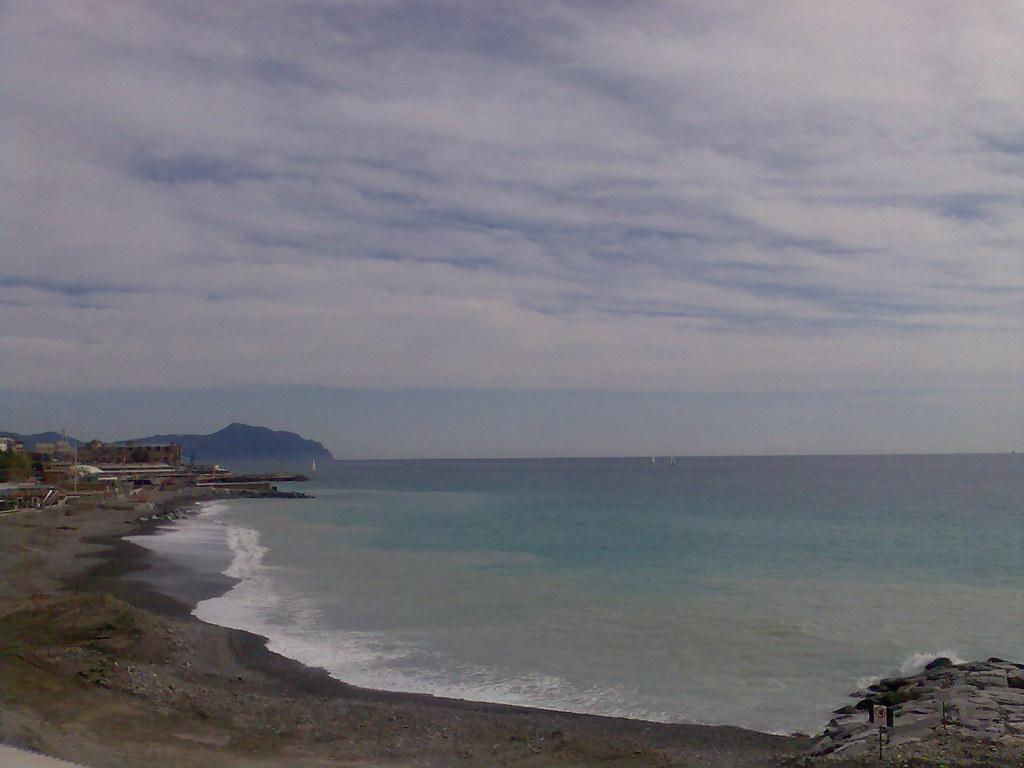 il mare d'inverno da Corso Italia