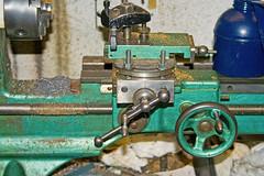 Very Old Myford Lathe (tudedude) Tags: uk metal speed model hand control mechanical machine engineering hobby workshop precision mf 36 rare engineer tool turning tesla lathe prewar modelengineering myford metallathe tudedude metalturning gapbed myfordlathe oldlathe metalworkinglathe myfordmf36 gapbedlathe