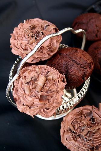 Vrais Faux Cupcakes Moka & Leur Garniture à Lécher Au Doigt -