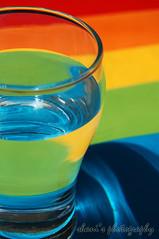 colours (fshani) Tags: blue shadow red orange reflection green water glass yellow d50 nikon shine layer shani tranparent