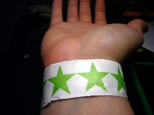 Wristband = Liquor
