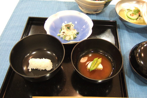 Asa chaji no kaiseki (August Kaiseki): cooking lesson