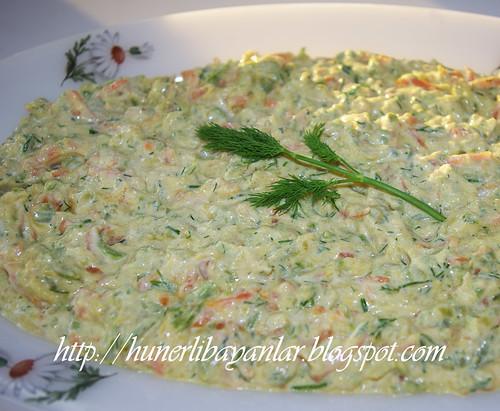 Kabaklı Havuçlu Salata