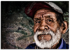 """Market Worker"" (Alfredo11) Tags: poverty old portrait man texture textura smile face look beard mexico calle expression retrato homeless cara oldman frosty alfredo catch sonrisa mustache pobre capture anciano miserable emotions mirada gaze viejo wrinkle stree hombre rostro indigente viejito canas hoar treatment wrinkly pobreza tratamiento captura bigote indigent hoary barbas expresion arrugas arrugado miseria emociones nikonsb800 supershot canoso pocketwizard nikoncreativelightingsystem nikon1755mm28 nikond300 nikonsb900 seriestreetphotography"