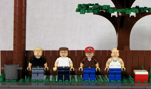 King Of the Hill custom minifigs