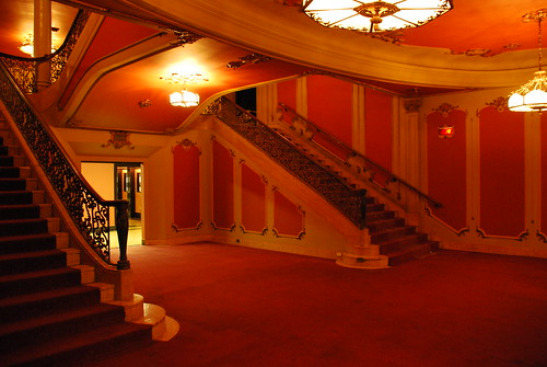 Los Angeles Theatre Main Lounge Stairs