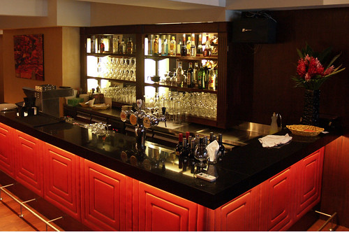 The bar at Dallas Lounge (Level 3)