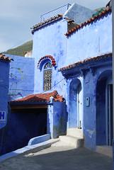 Entre de maison - Chaouen (Pix4fun_Jm) Tags: maroc chaouen chefchaouen