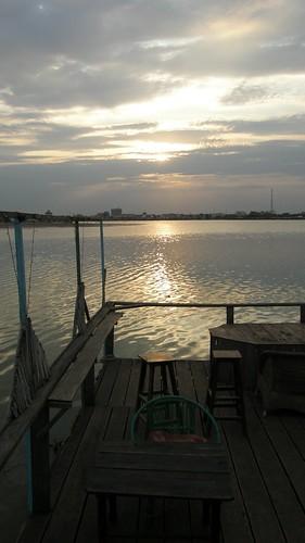71.Boeng Kak Lake的夕陽 (2)