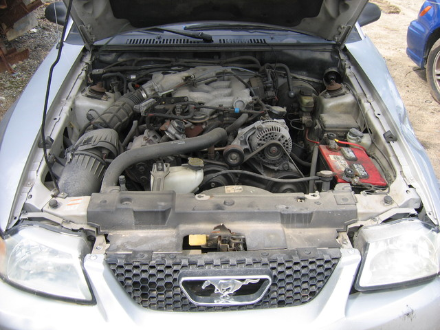 1999 Ford Mustang engine