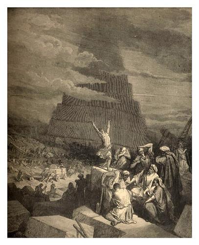 003-La torre de Babel-Gustave Doré