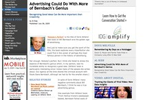 Advertising Could Do With More of Bernbach's Genius - Advertising Age - Al Ries_1247225091273