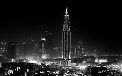 Conjugal Burns | 190.365 (Stephan Geyer) Tags: street city bw monochrome night canon buildings 50mm hotel blackwhite dubai cityscape view candid balcony 5d canon5d 5014 ef50mmf14usm canoneos5d dubaimall project365blackandwhite theaddress dubaiatnight featuredonadidapcom canon5dclassic