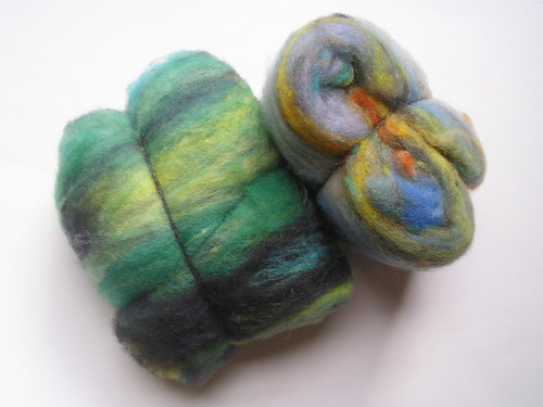 Organic batts from SpinSpanSpun