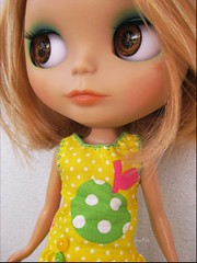 (Angel~Lily) Tags: holiday sunshine bigeyes blythe custom addison takara angellily