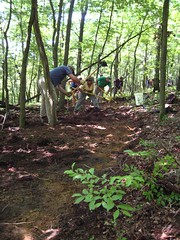 Frederick Watershed Trail Work