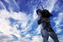 MOBILE SUIT GUNDAM (Full-scale Model) (Noisy Paradise) Tags: city sky japan tokyo sigma explore  odaiba gundam  foveon   dp1 dp2 sigmadp1