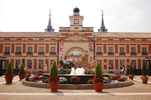 Cibeles y Sol en Parque España