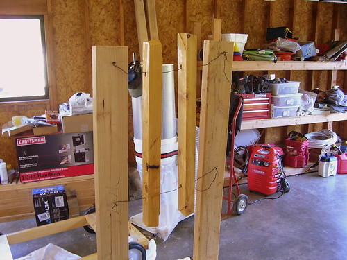 Finishing the clamp bars.