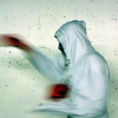 punch (stevefaeembra) Tags: red edinburgh gloves hood punching punch boxing pgemeetup pge20090721