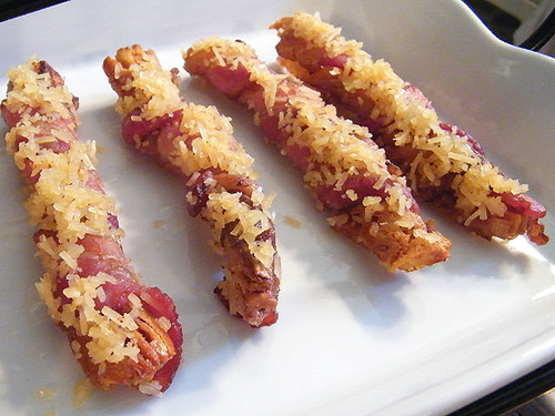 EASY Bacon Wrapped Breadsticks, MyLastBite.com
