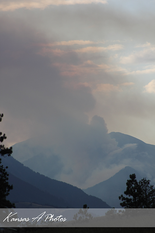 Lillooet Fire July 23 2009 6:30 PM