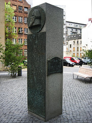 Brahms-Denkmal am Bäckerbreitergang