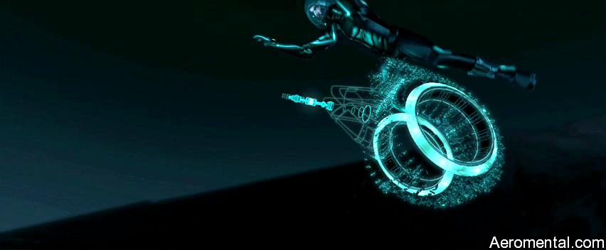 TRON Legacy moto 3D