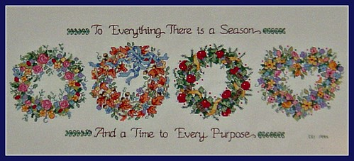 To Everything There is a Season And a Time to Every Purpose (by martian cat)