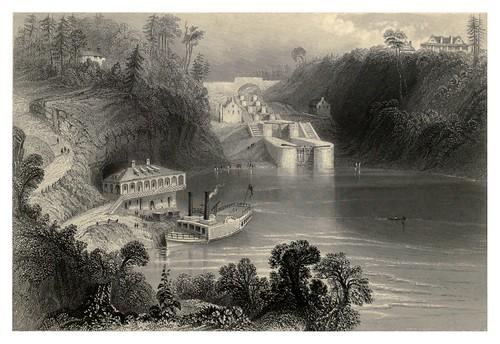006- Compuertas sobre el canal Bytown 1842