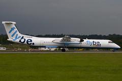 G-ECOR - Flybe British European - De Havilland Canada DHC-8-402Q Dash 8 (DHC-8) - Luton - 090806 - Steven Gray - IMG_8553