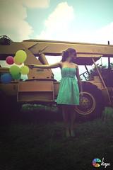 (kape photography) Tags: colors vintage balloons mexico construction model junk colorful wind trucks monterrey multicolor kape junkcars junkandballoons