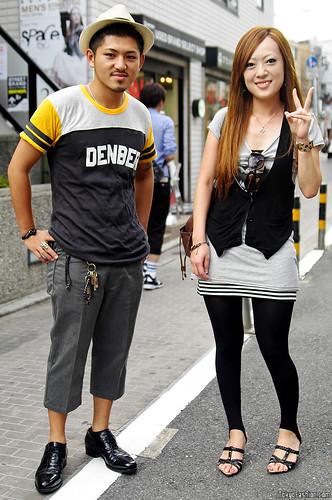 Harajuku Street Fashion - Boy & Girl