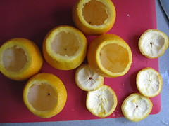 Hollow oranges