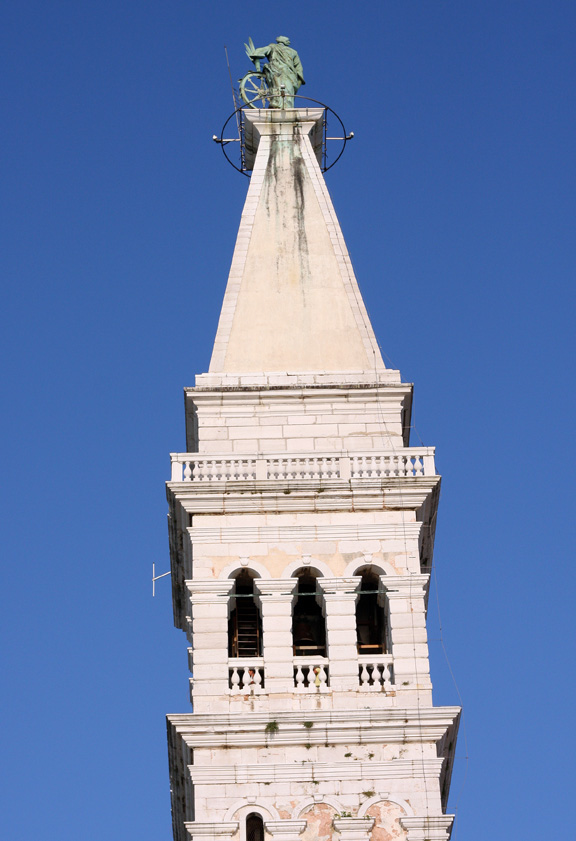 rovinj church tower