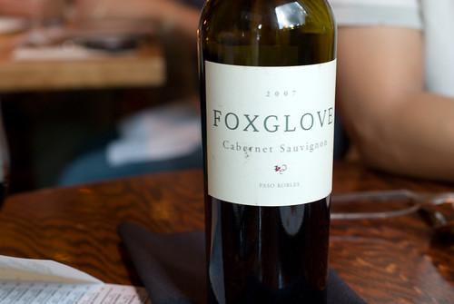 Foxglove Cab Sauv
