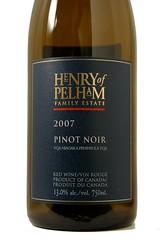 2007 Henry of Pelham Pinot Noir