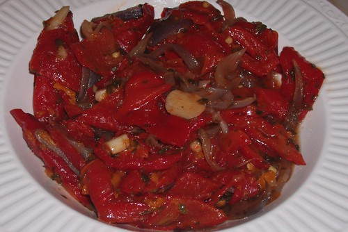 Roasted Sweet Red Peppers