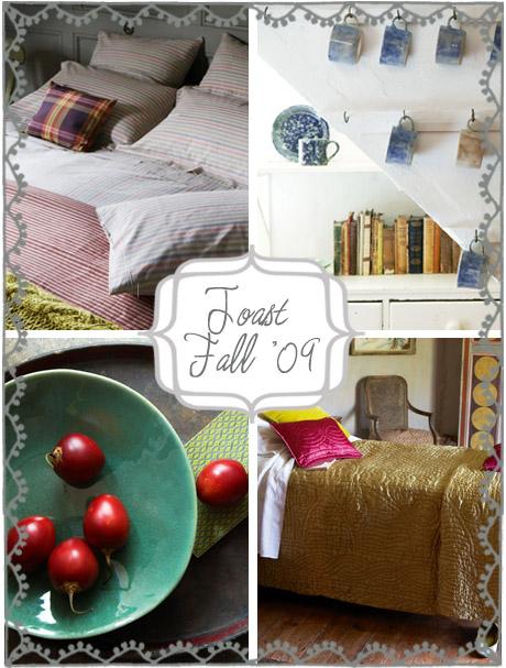 toast fall '09 house&home catalogue