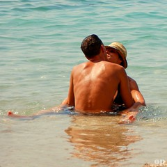 Sea Of Love - Croatia, Orebìc (Osvaldo_Zoom) Tags: sea summer love beach water loving kiss couple croatia lovers croazia makelovenotwar magicshots orebìc