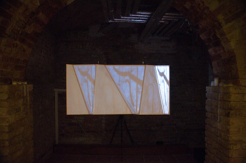basement projection artwork