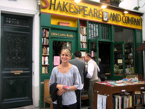 Jenna-Paris book store