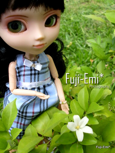 little gal in garden by you.